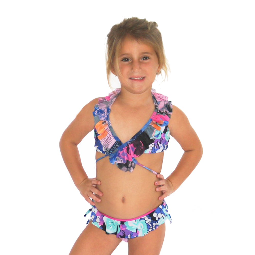 Flower Passion - Bikini - Kids Swimwear
