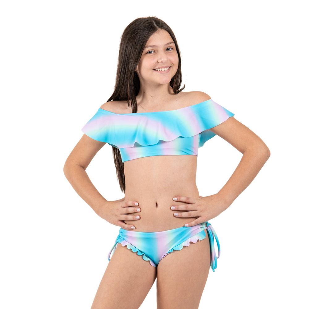 Blue Sunset -  Bikini - Kids Swimwear
