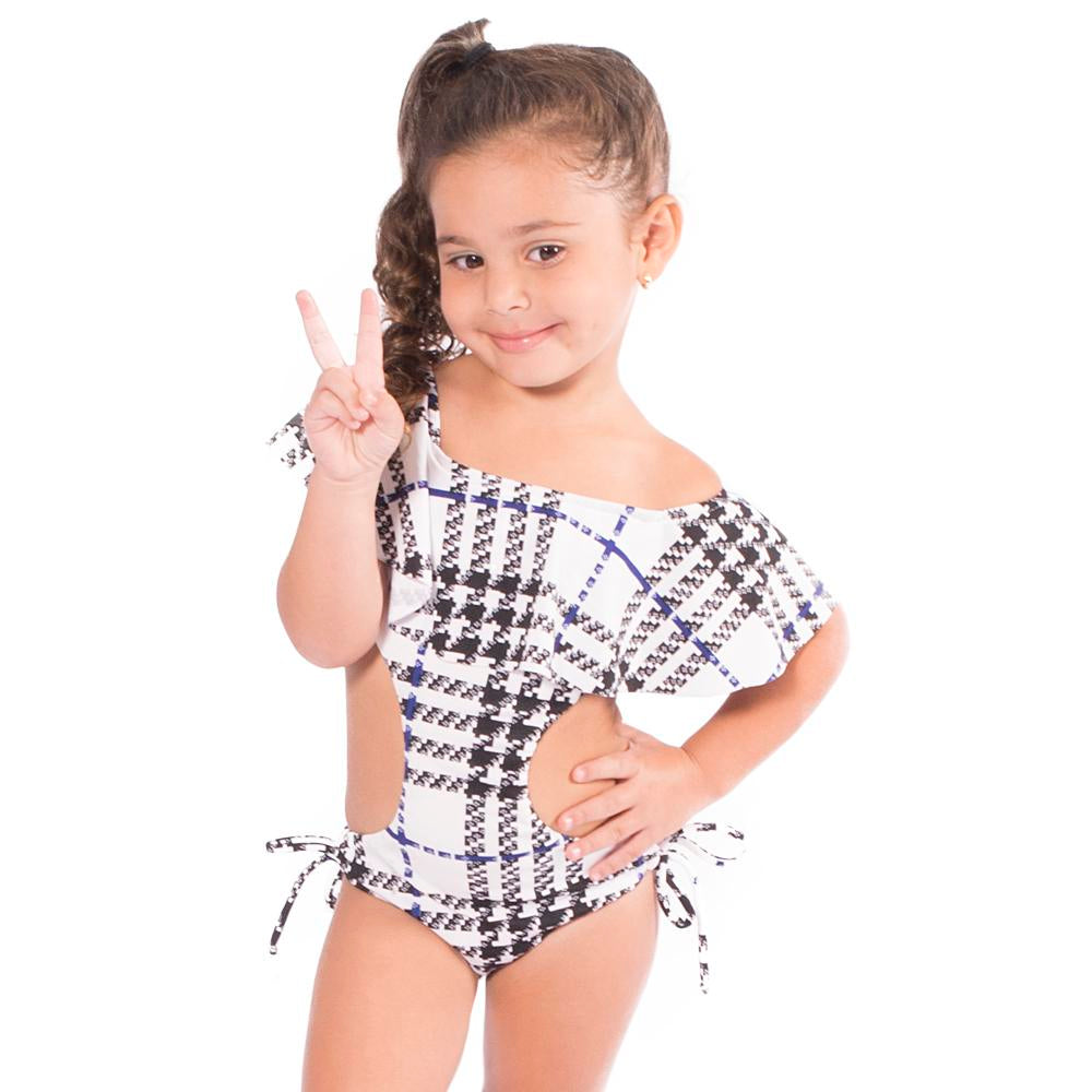 I Plaid You - Trikini - Kids Swimwear