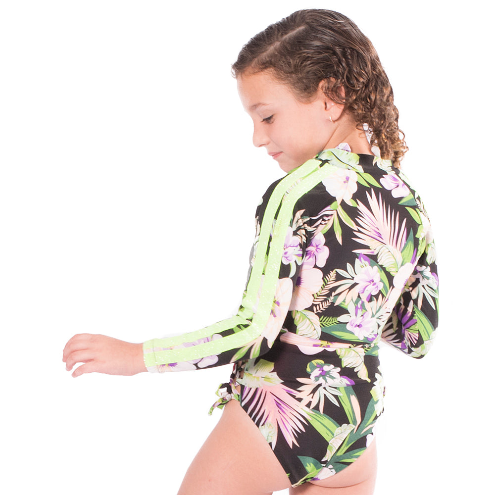 Jungle Power - Rash Guard Shirt - Kids Swimwear