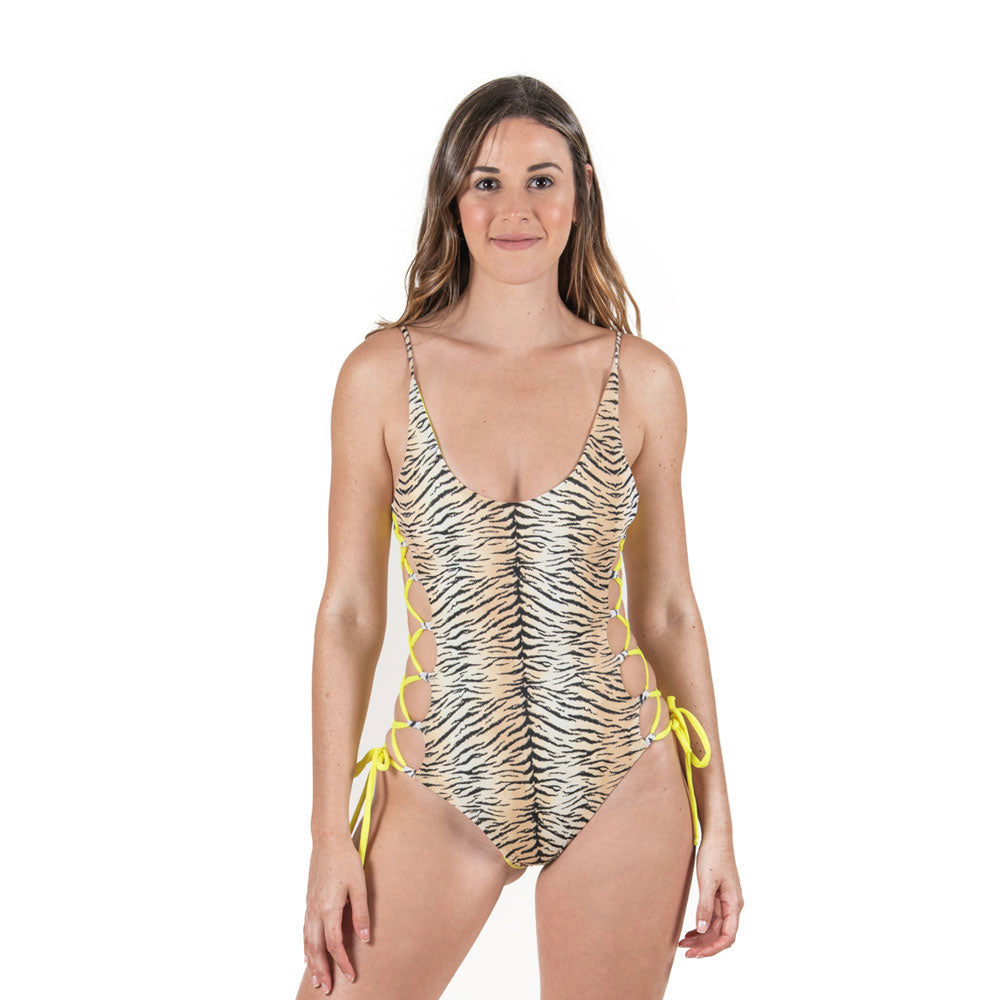 Black Tiger - Adult Women One piece