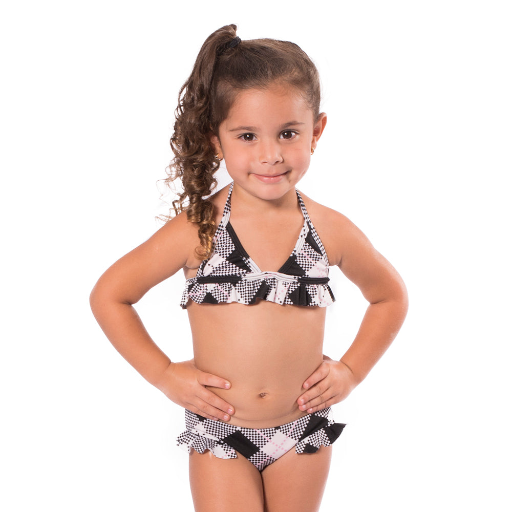 Pinky Rain - Triangle Bikini - Kids Swimwear