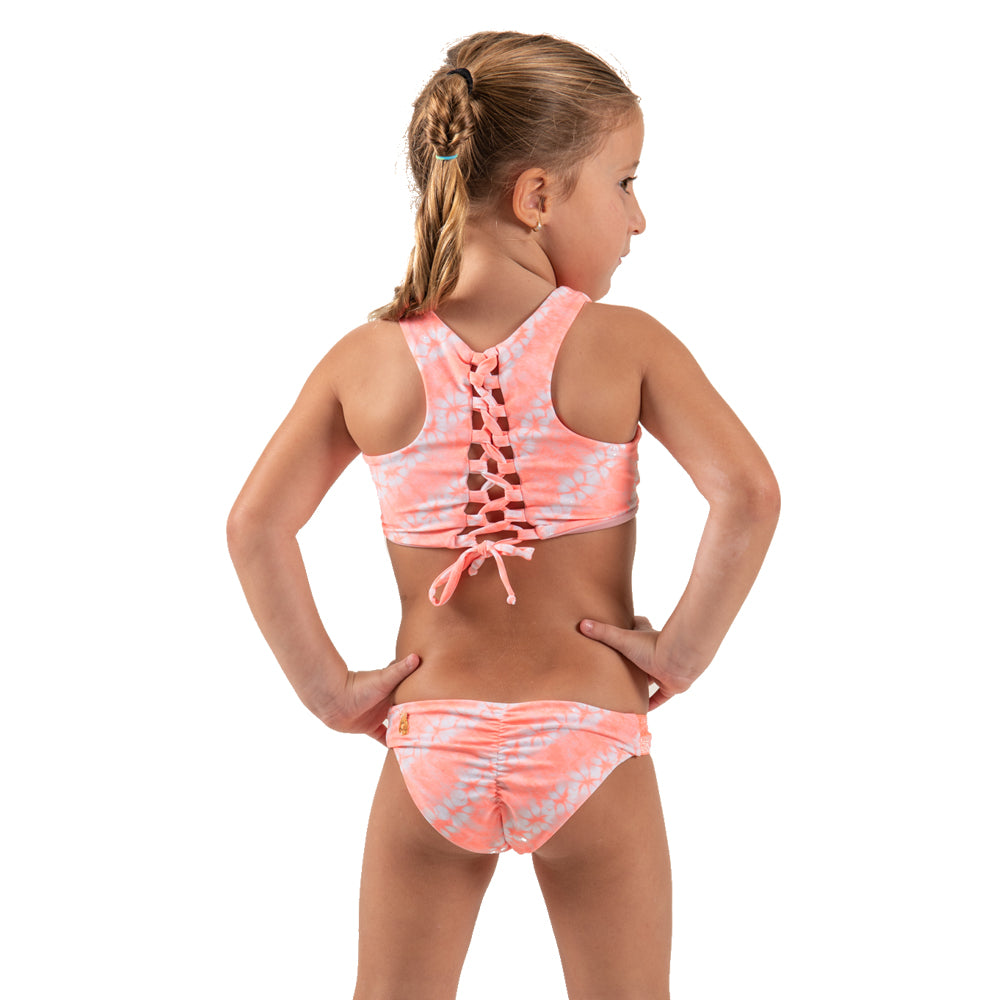 Orange Tie Dye -  Bikini - Kids Swimwear