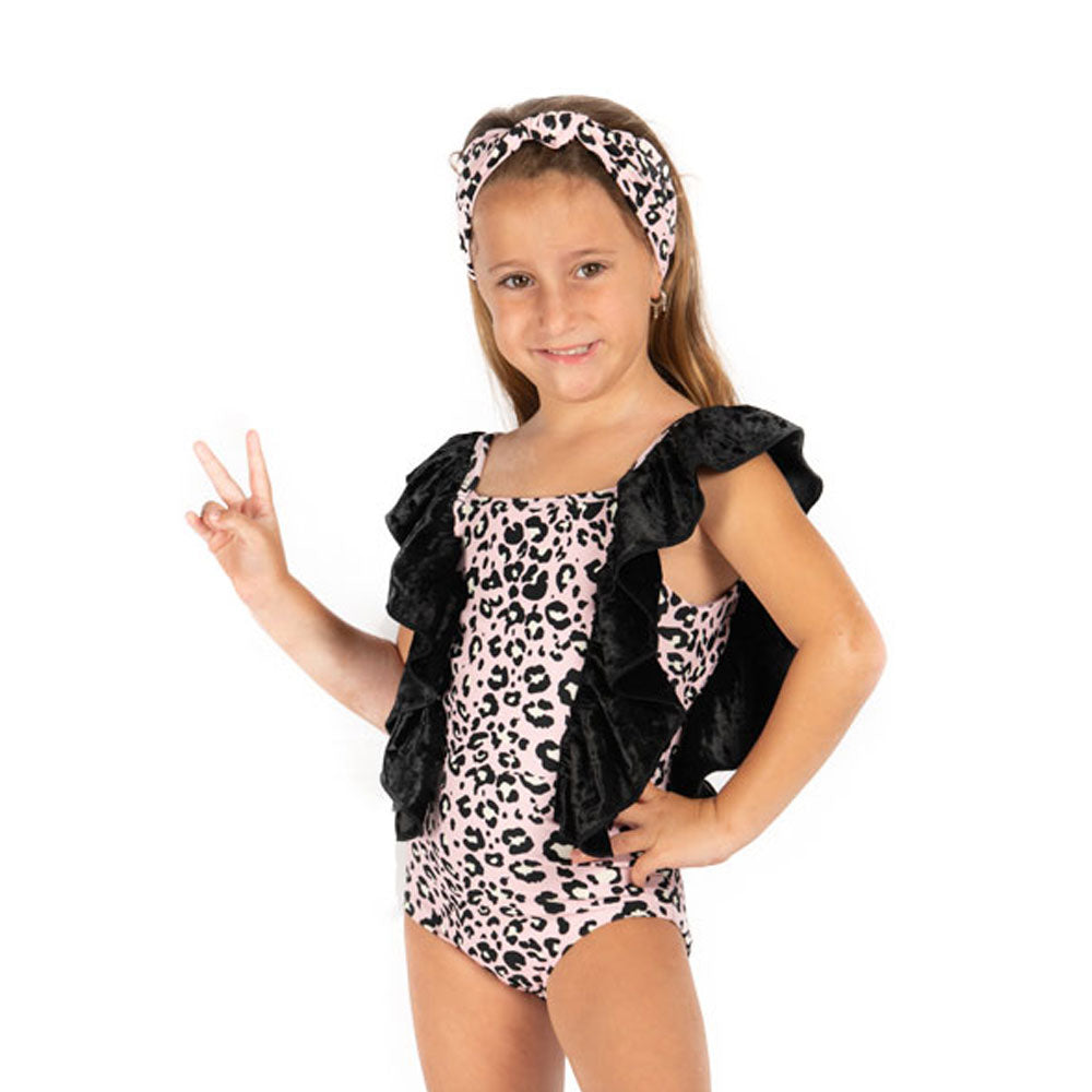 Pink Leopard -  One Piece Sleeveless