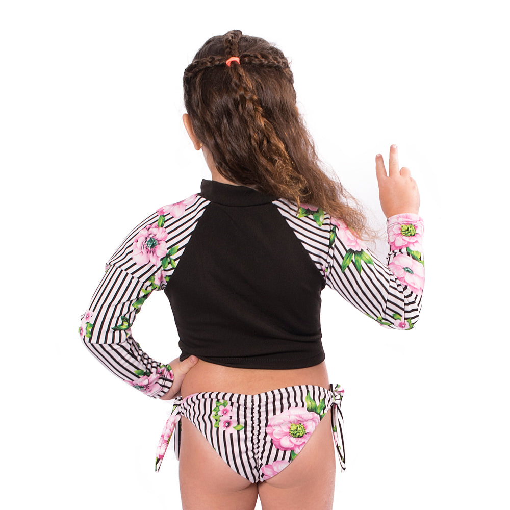 Stripetology - Rash Guard Shirt - Kids Swimwear