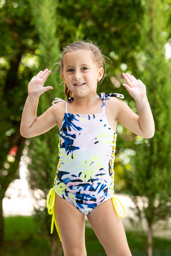 Funky Splash- One Piece - Kids Swimwear