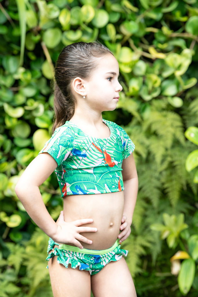 Parrot Jungle -  Bikini - Kids Swimwear