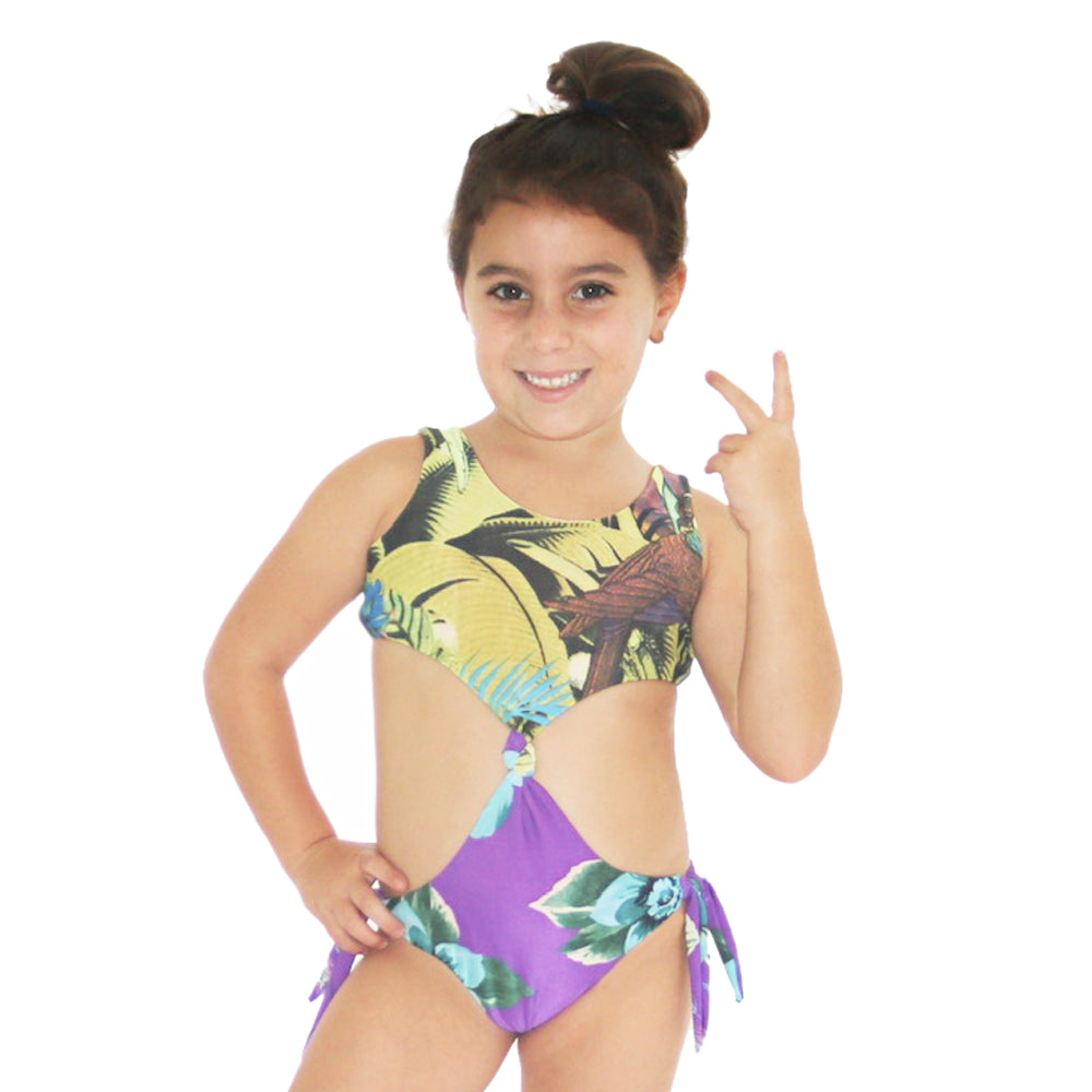 Greenurple - Trikini - Kids Swimwear