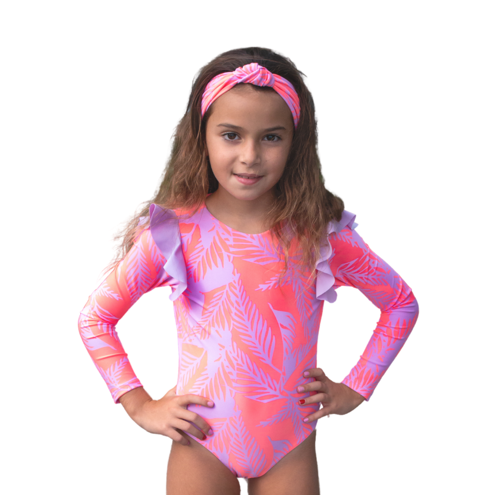 Pinkurple - One Piece - Kids Swimwear