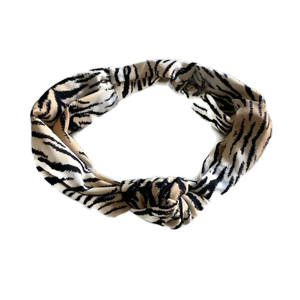 Matching Headbands- Black Tiger