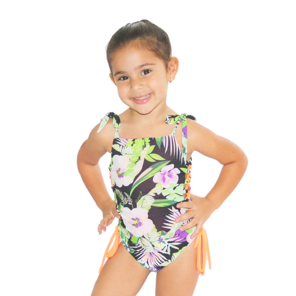 Jungle Power - One Piece - Kids Swimwear