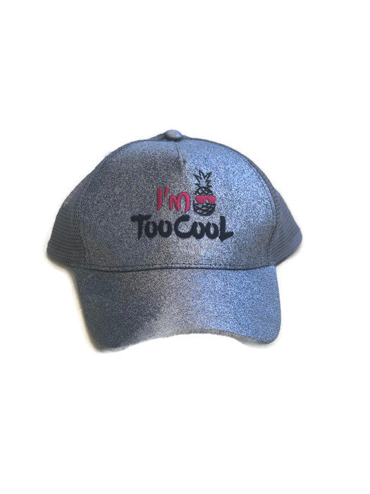 I'm Too Cool Sun Cap