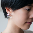 TARO HORIUCHI x SIRI SIRI Earrings MELTED STONE RAINBOW