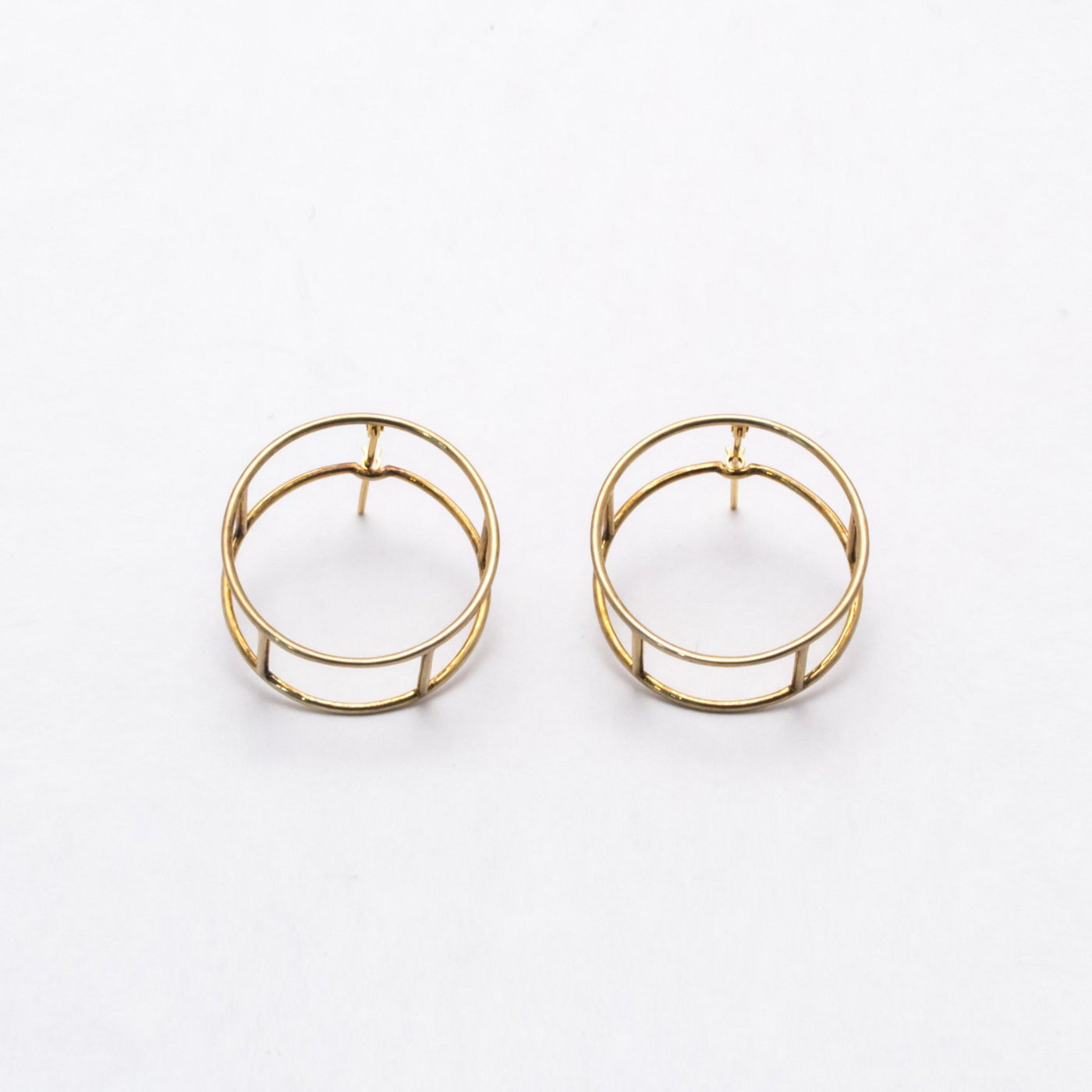 COMPOSITION Earrings LINE ROUND