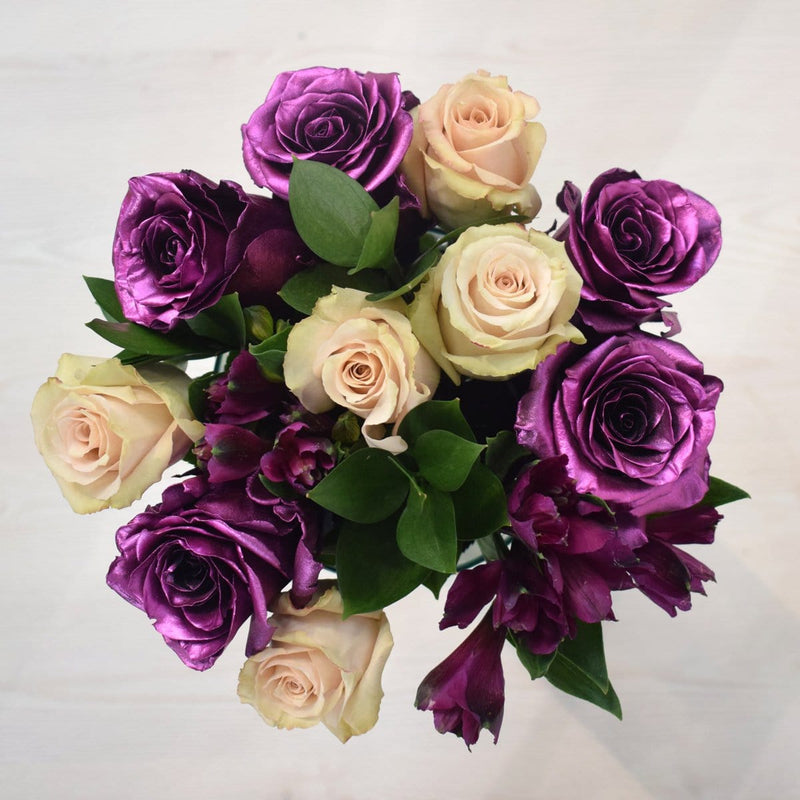 Tinted Purple Bouquet