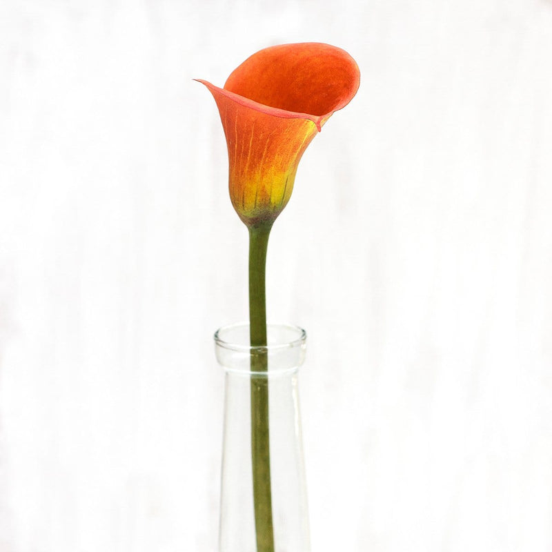 Fall Orange Mini Calla