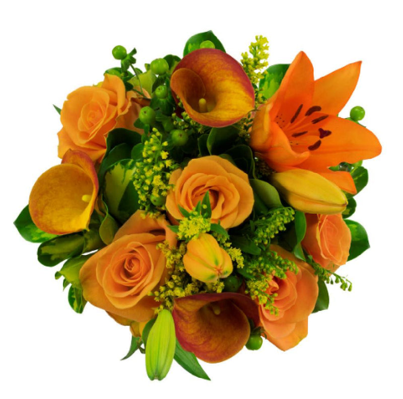 Pumpkin Love Arrangement