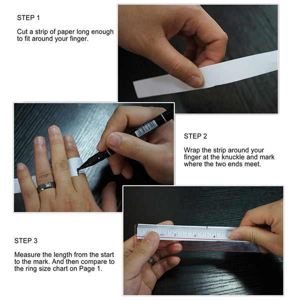 MEASURE YOUR FINGER SIZE