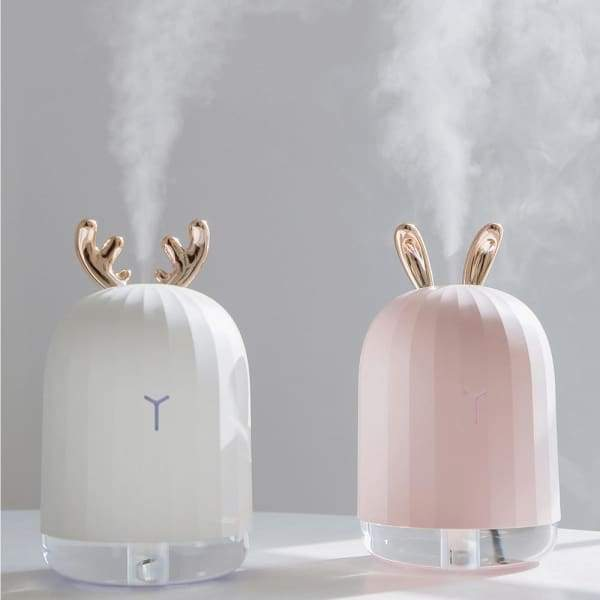 220ML Ultrasonic Air Humidifier Aroma Essential Oil Diffuser LED Night Lamp