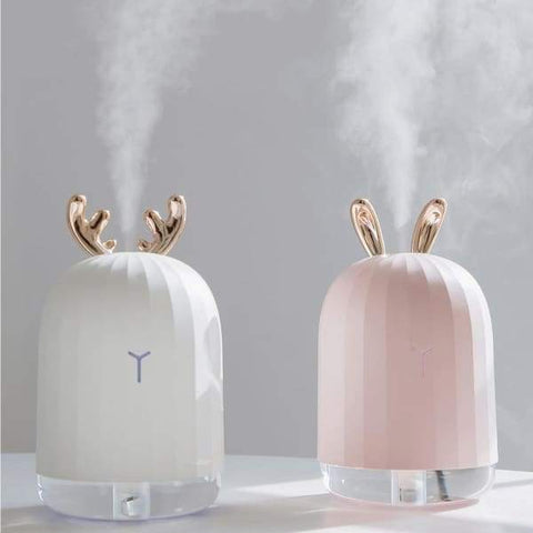 220ML Ultrasonic Air Humidifier Aroma Essential Oil Diffuser LED Night Lamp - night led lamp