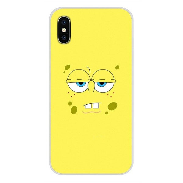 Funny and Cute Best Friend Patrick Queen Spongebob Stars Phone Cover For iPhone