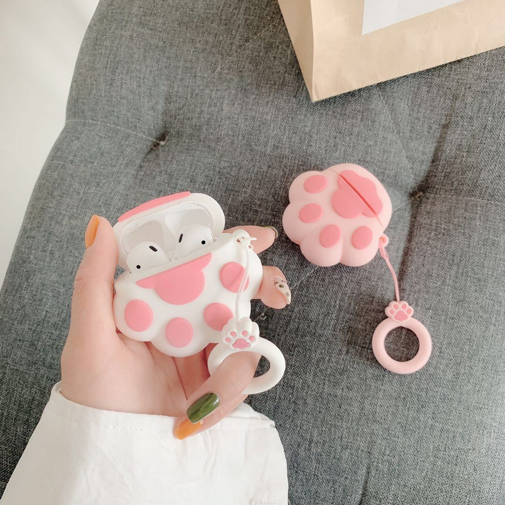 Bluetooth Earphone Case for Airpods Cute 3D Design Protective Cover Cases