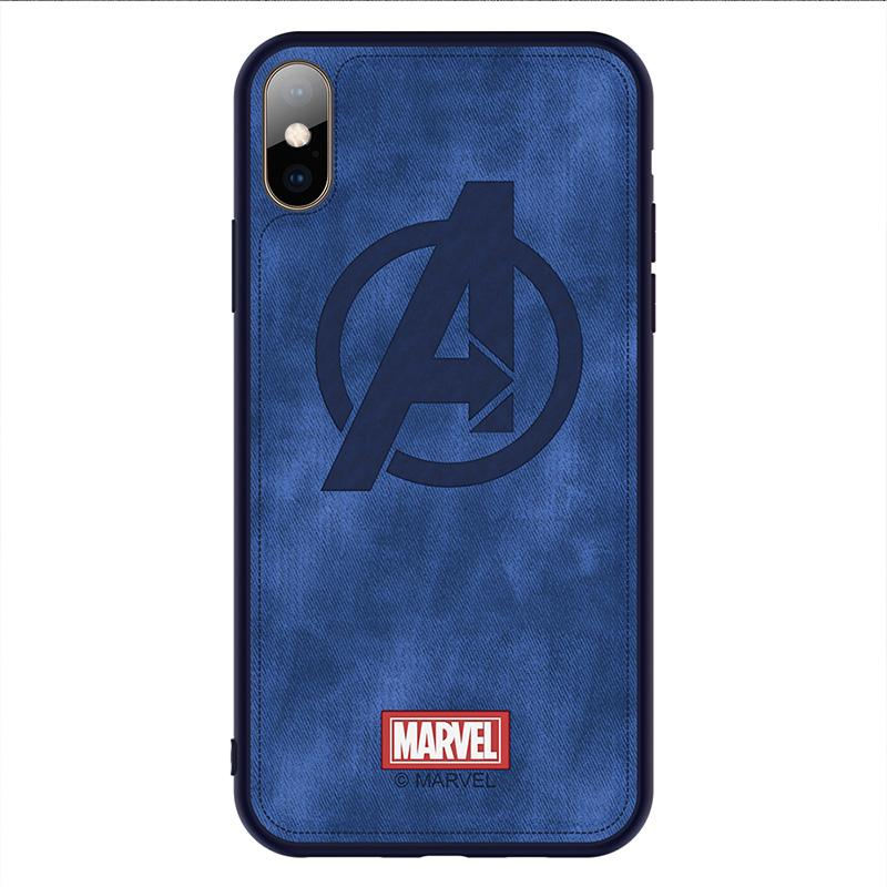 Captain Marvel The Avengers Iron Man Phone Case For iphone Cases