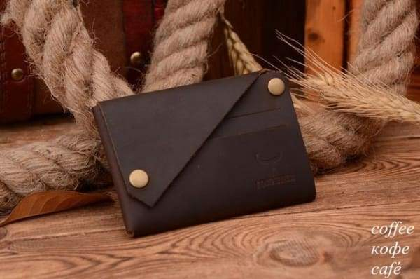 Credit Card Holder Crazy Horseg Genuine Leather Wallet WALLET