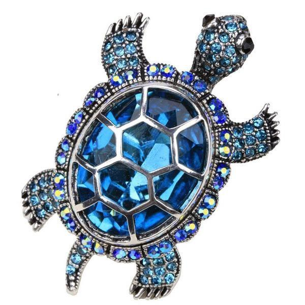Cute Big Cocktail Turtle Women Ring Unique Gifts Rings