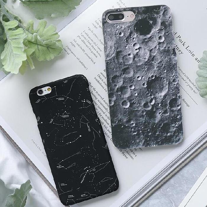 Cute Constellation Moon iPhone Case Retro Universe Series Phone Cases
