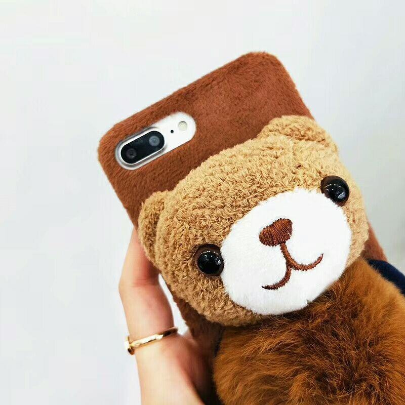 quality design a3a50 5019f Brown Toy Bear / for iPhone XR