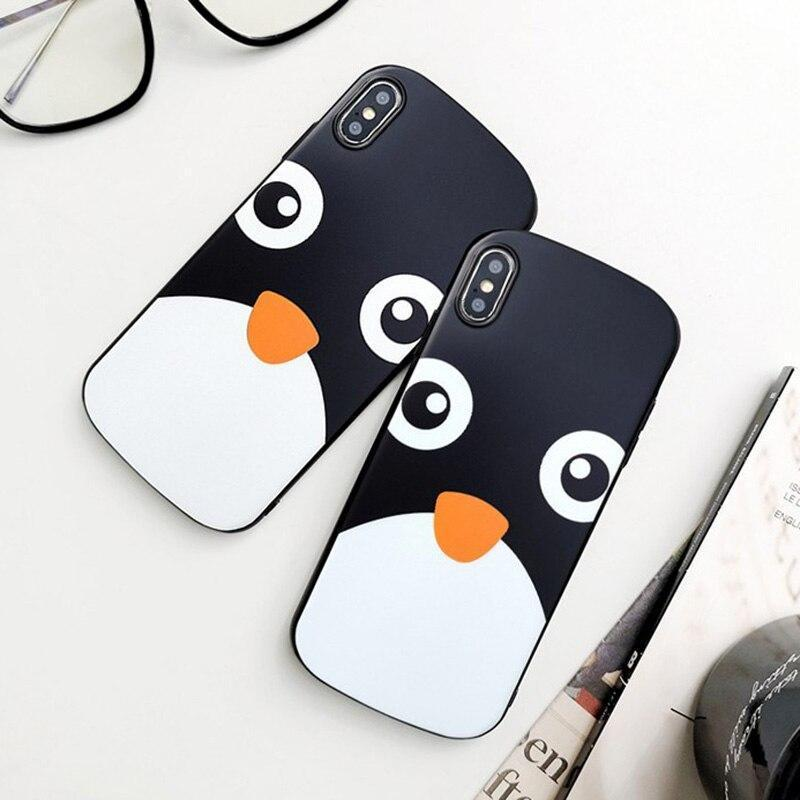 Cute Phone Case Cartoon Penguin Lovely iPhone Cover phone cases