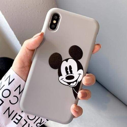 Cute Phone Cases Cartoon Mickey iPhone