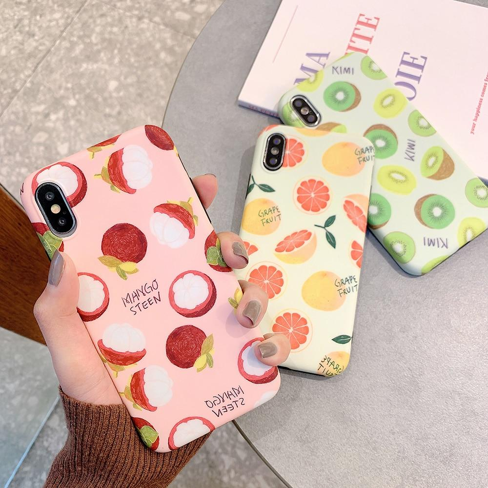 Cute Summer Fruits iPhone Cases Protective Mobile Phone Cover