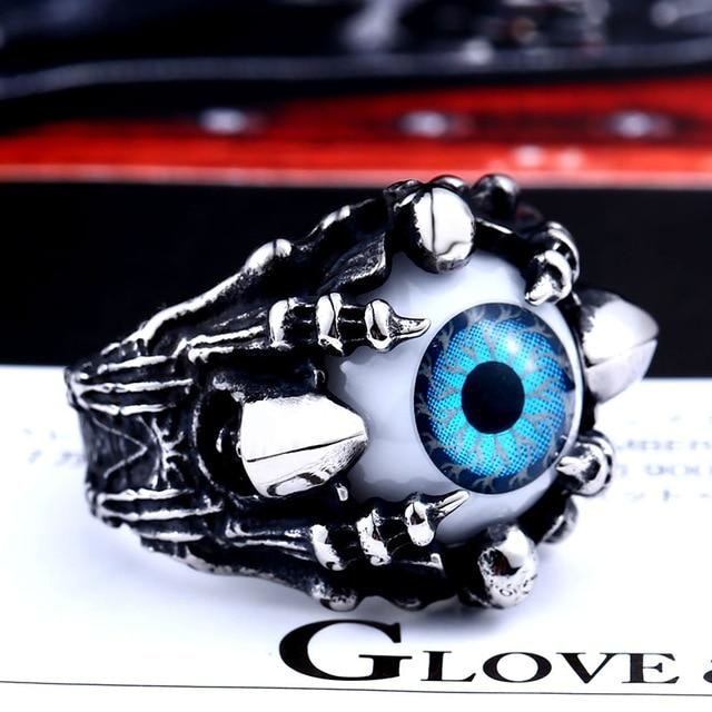 Eye of The Evil Spirit Ring Top Quality Claw For Men Rings