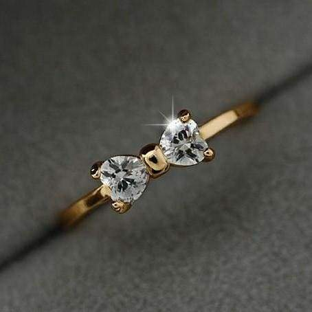 Fashion Austria Crystal Wedding Engagement Rings For Women Ring