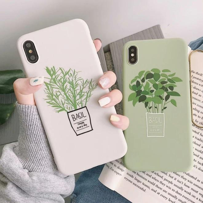 Fashion Summer Fresh Leaf Case For iPhone Cute Phone Cases