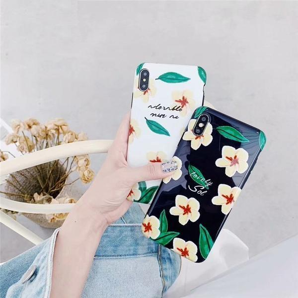 Flower Leaves Bird Cute Phone Cases iPhone