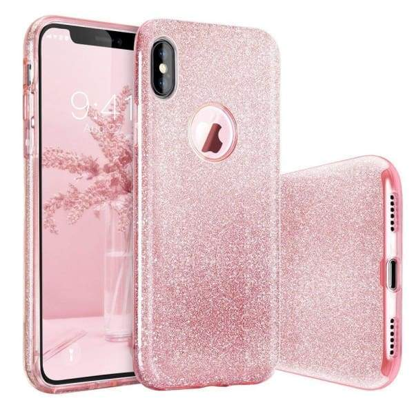 Glitter Case iPhone Luxury Shell Back Cover Phone Cases