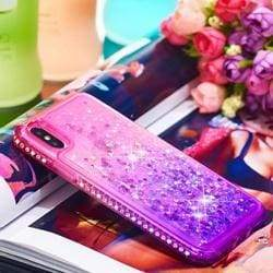 Glitter Diamond Frame Case Dynamic Cover For iphone Phone Cases