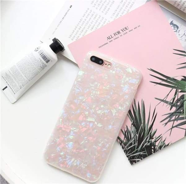 Glossy Glitter Phone Case For iPhone phone cases