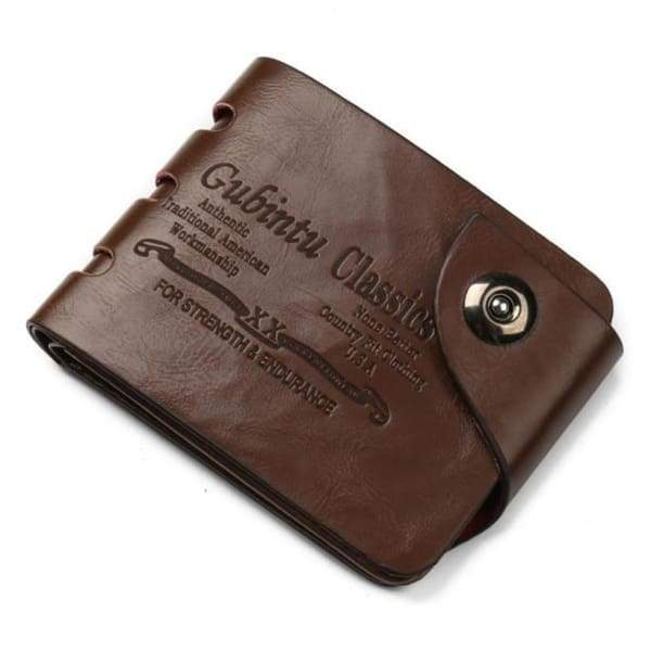 Hot Selling New Fashion Mens Mini Leather Wallet