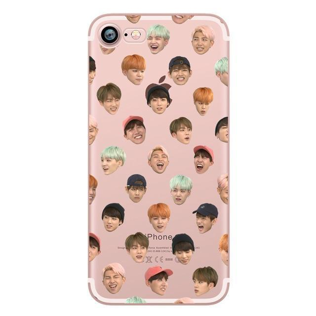 IPhone Case BTS Bangtan Boys Rap Monster Korea Young Forever Phone Cases