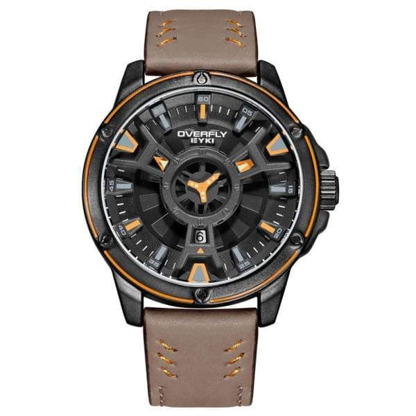 Luxury Military Waterproof Sport Army Quartz Double Dial Men Watch watches