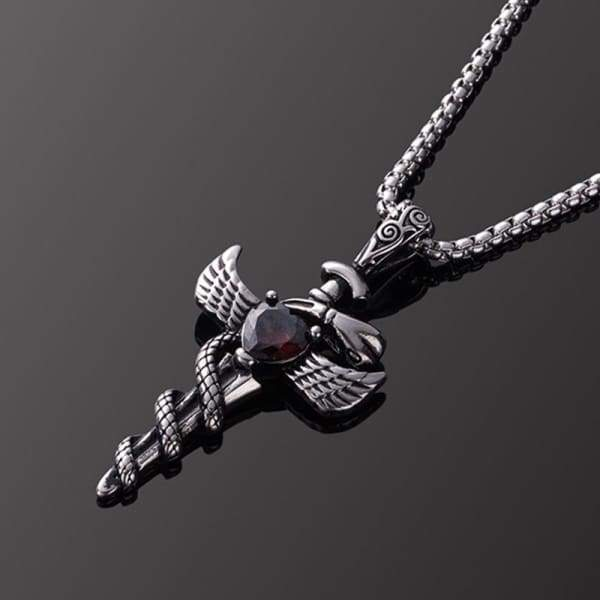 Mens Stainless Steel Pendant Necklace For Men Jewelry and Accessories