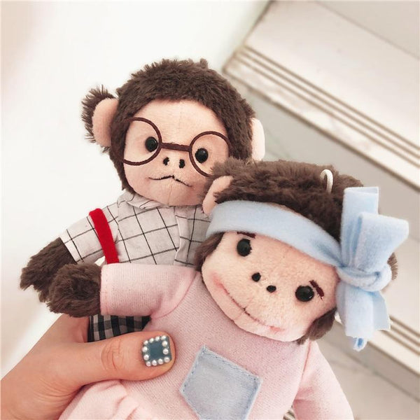 Monkey Cartoon Case For Iphone Fluffy Cute Winter Phone Cases LABONNI