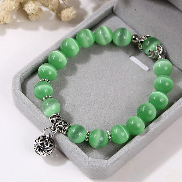 Natural Beads Crystal Bracelets