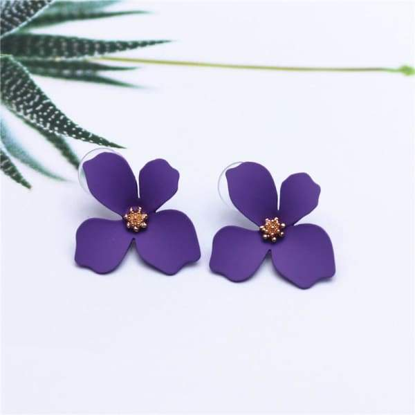 New Design Sweet Jewelry Flower Stud Earrings
