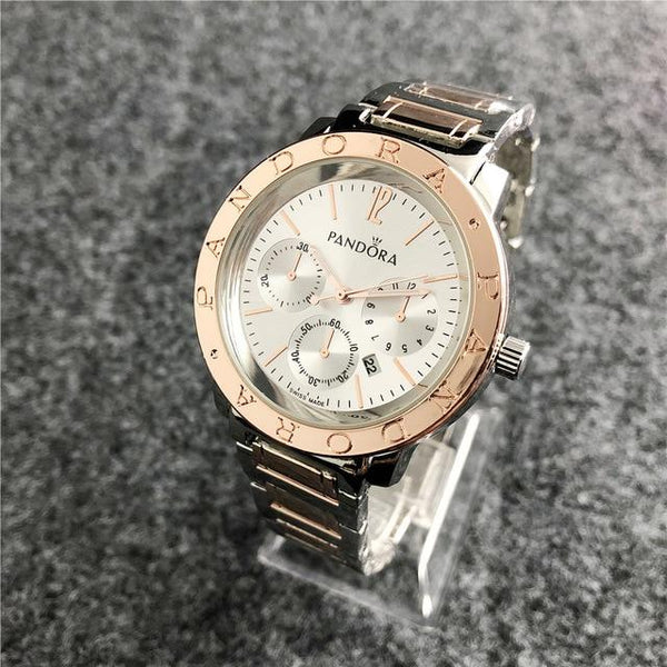 Pandora Watch Luxury Silver Charms Women Watches