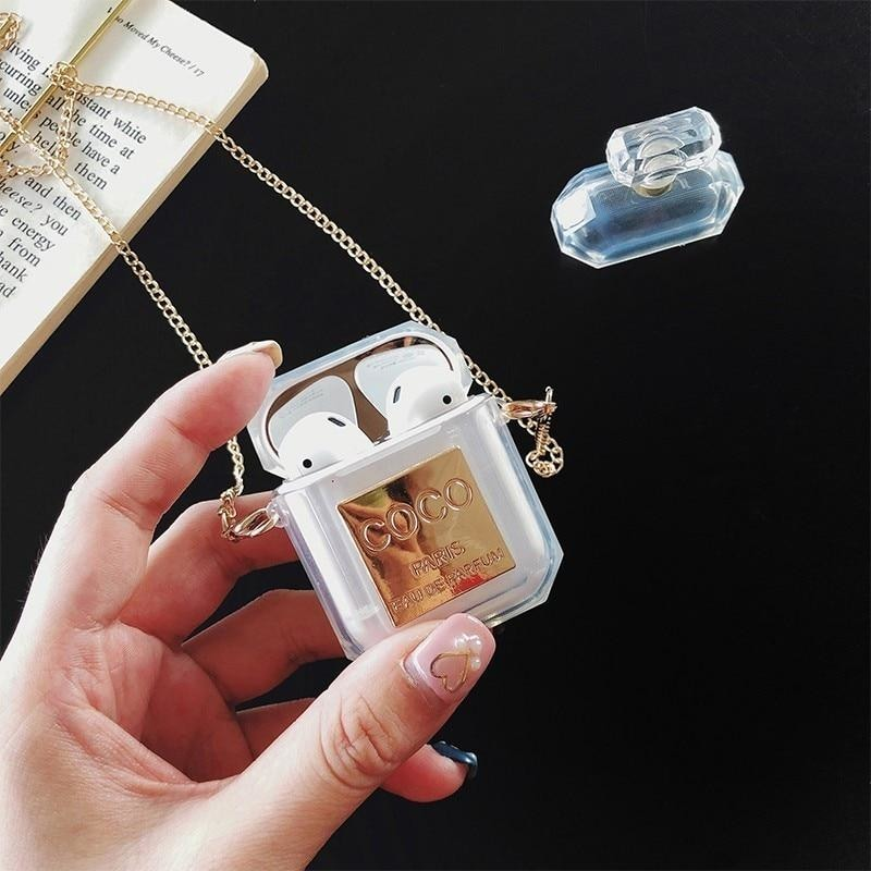 Perfume Bottle Wireless Bluetooth Headset Cover for Apple Electronic Accessories